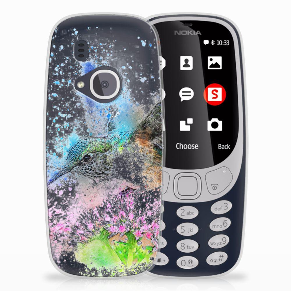 Nokia 3310 (2017) TPU Hoesje Design Vogel