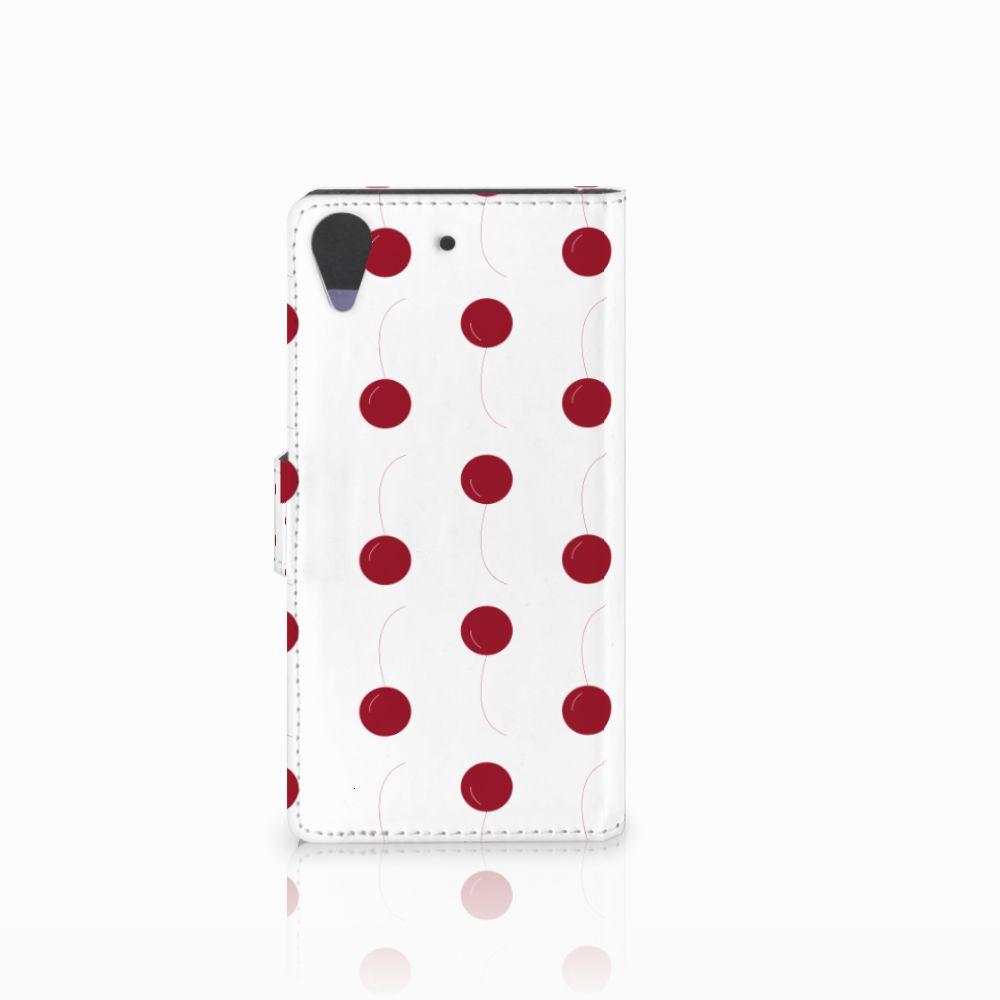 HTC Desire 628 Book Cover Cherries
