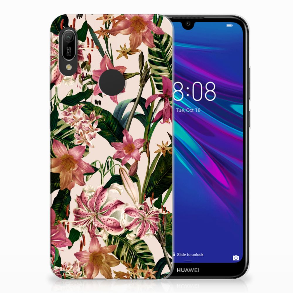 Huawei Y6 2019 | Y6 Pro 2019 TPU Case Flowers