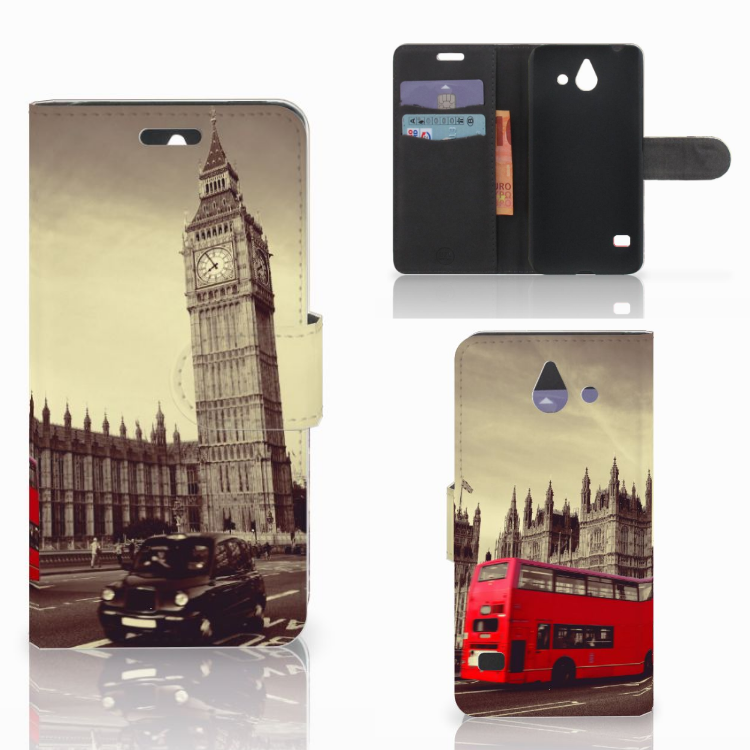 Huawei Ascend Y550 Flip Cover Londen
