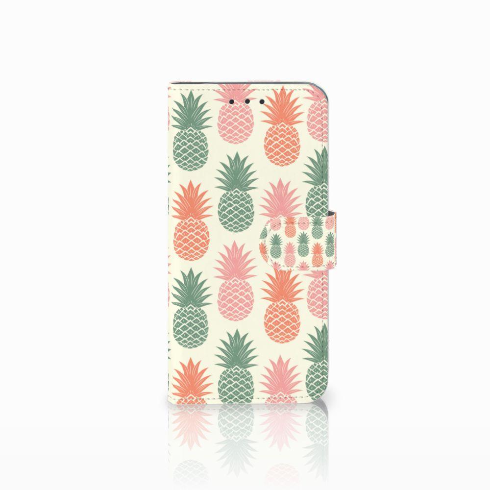 Motorola Moto G6 Play Boekhoesje Design Ananas