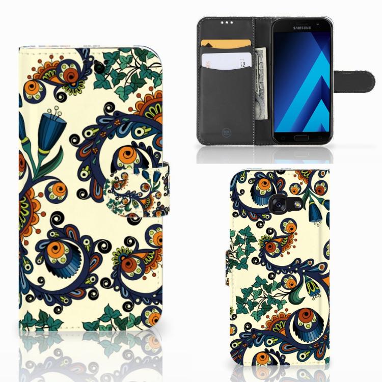 Wallet Case Samsung Galaxy A5 2017 Barok Flower