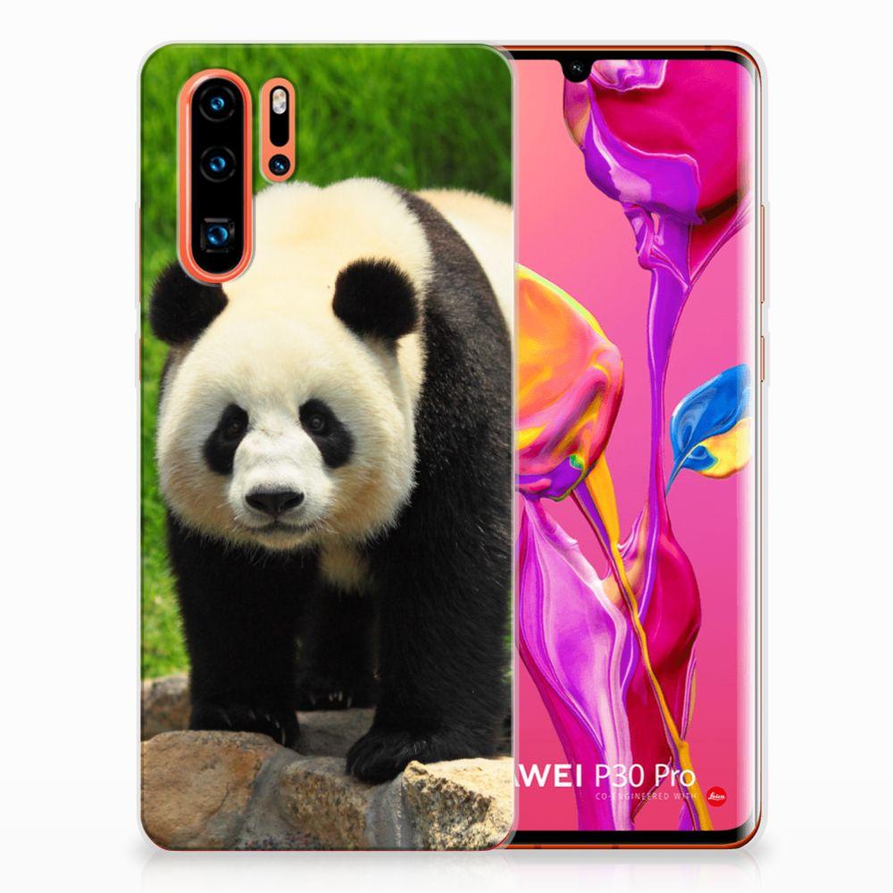 Huawei P30 Pro TPU Hoesje Panda
