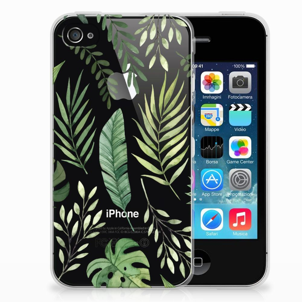 Apple iPhone 4 | 4s TPU Case Leaves