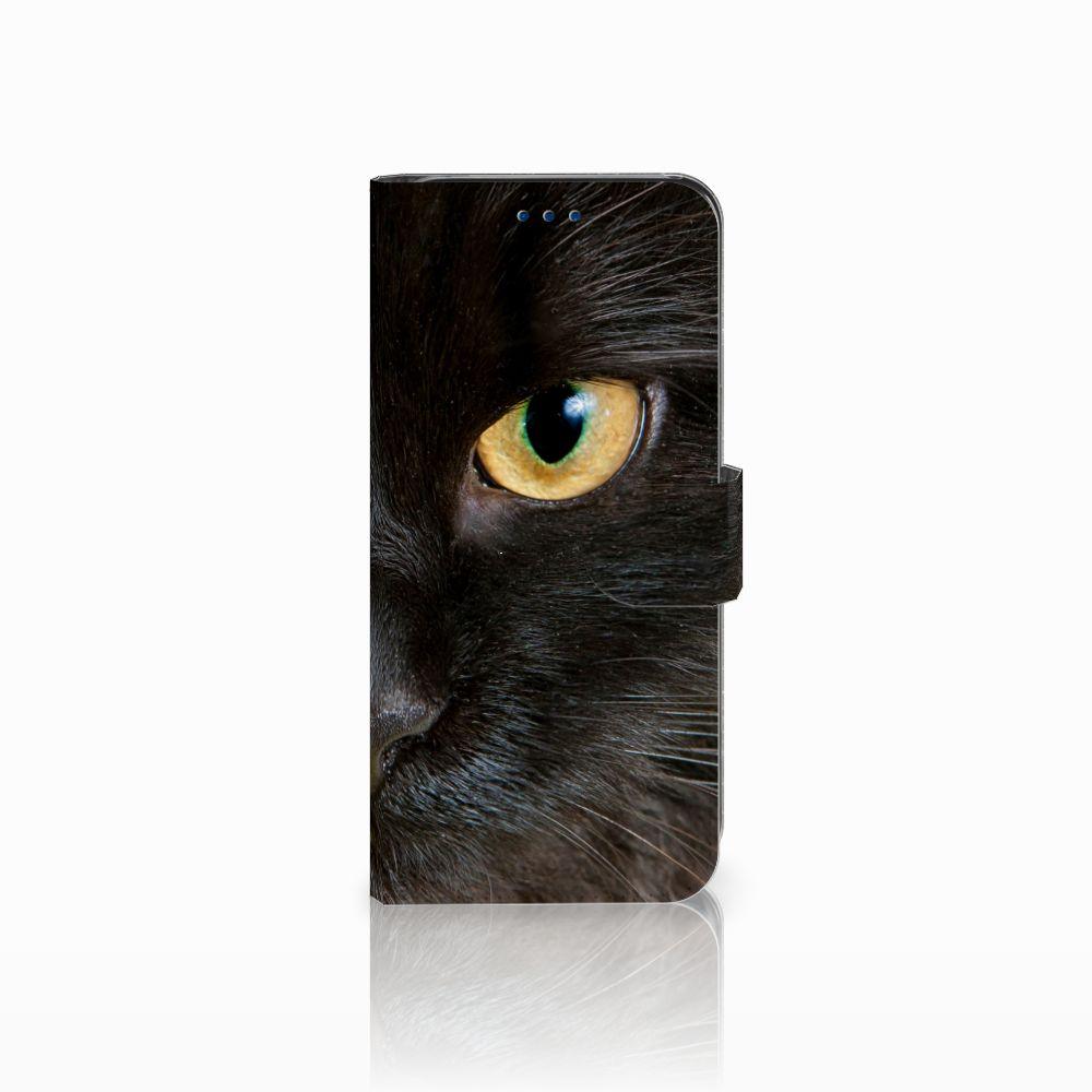 Samsung Galaxy S8 Uniek Boekhoesje Zwarte Kat