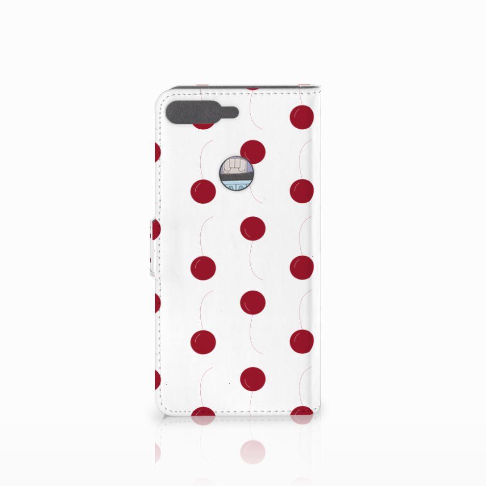 Huawei Y7 2018 Book Cover Cherries