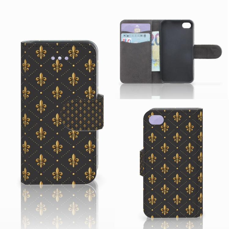 Apple iPhone 4 | 4S Telefoon Hoesje Franse Lelie