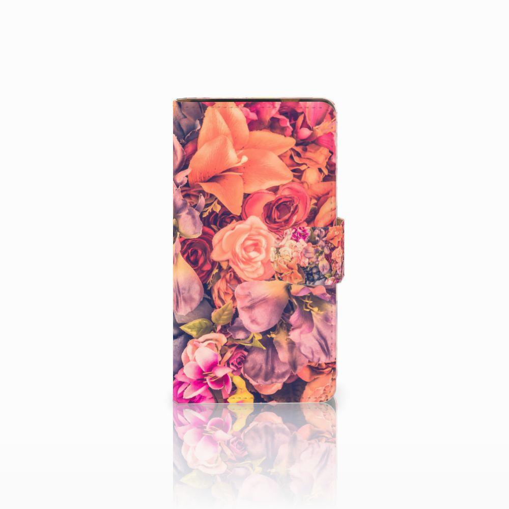 HTC Desire 601 Boekhoesje Design Bosje Bloemen