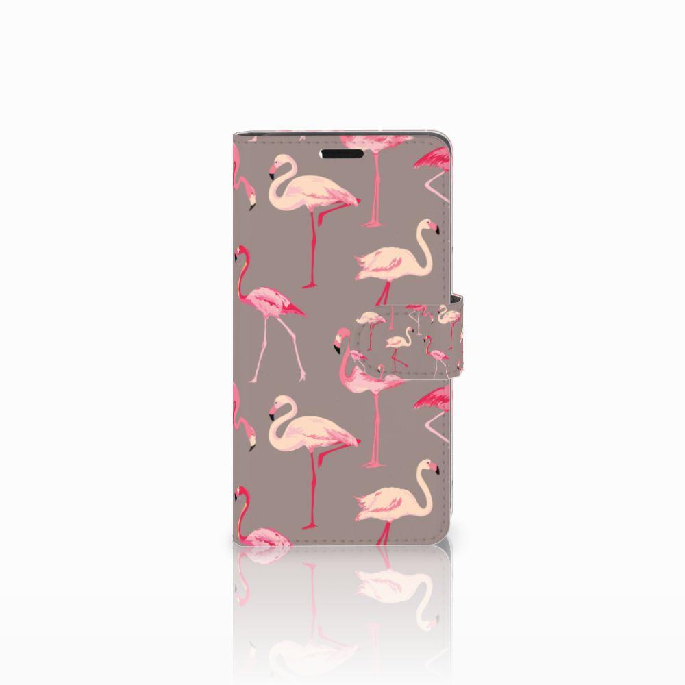 Lenovo C2 Power Uniek Boekhoesje Flamingo