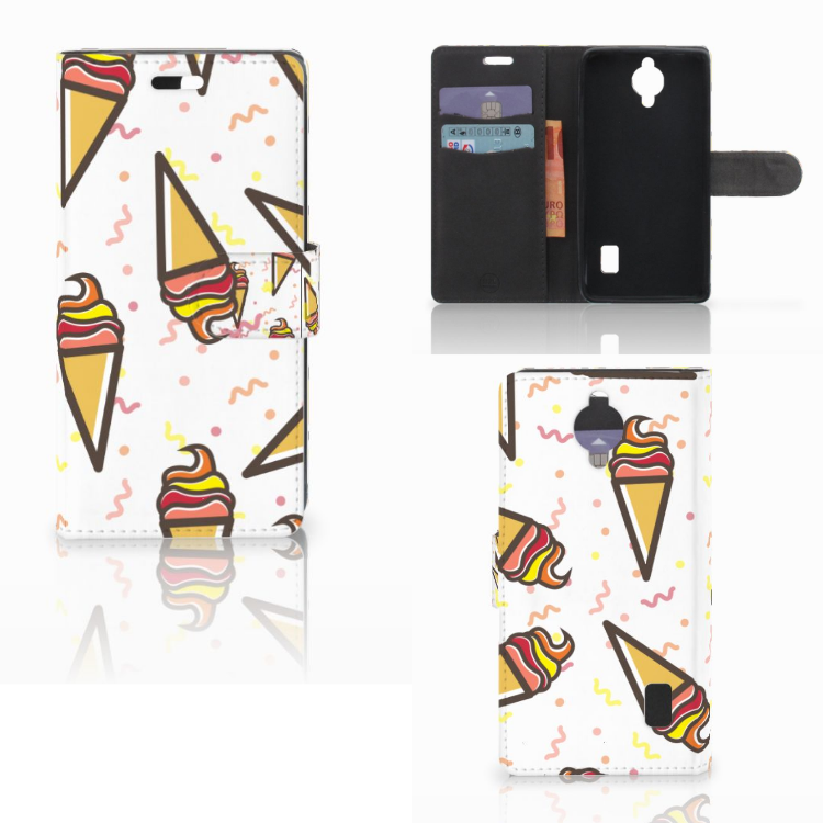 Huawei Y635 Book Cover Icecream