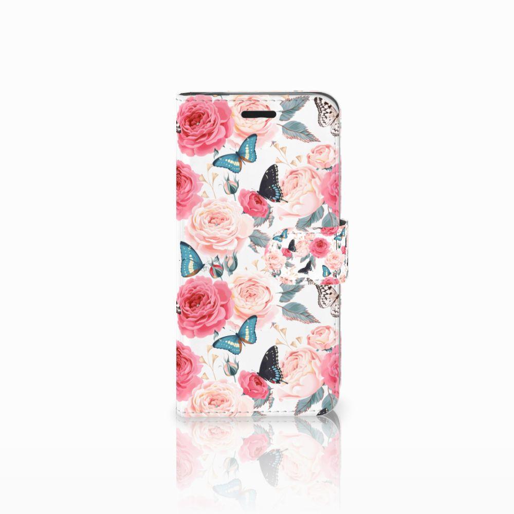 Acer Liquid Z530 | Z530s Uniek Boekhoesje Butterfly Roses