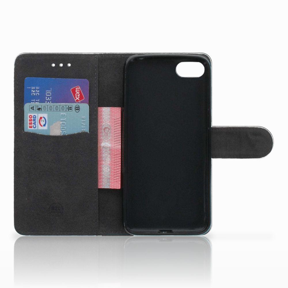 Huawei Y5 2018 Book Style Case Steigerhout