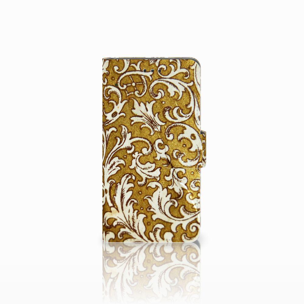 Nokia 7 Boekhoesje Design Barok Goud