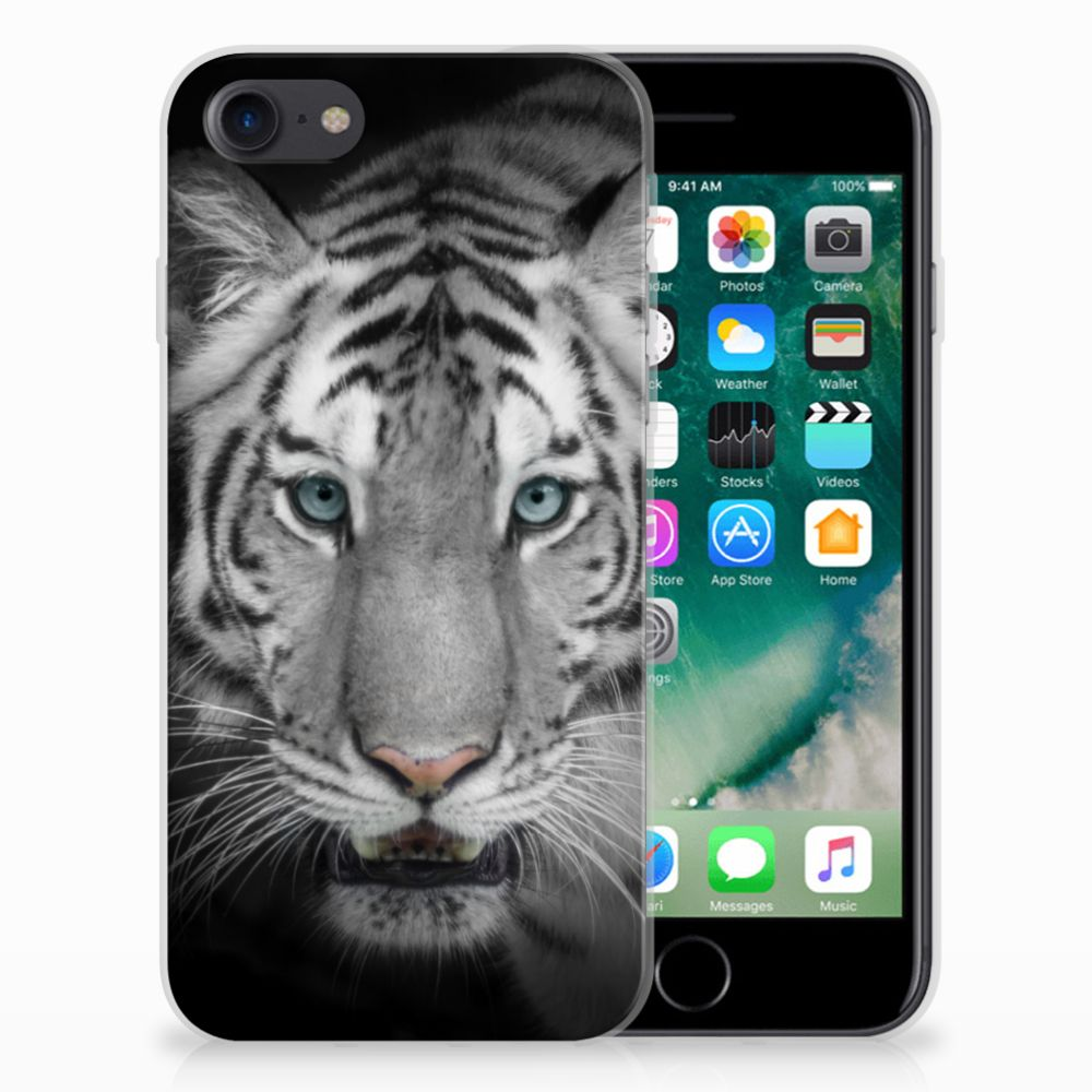 Apple iPhone 7 | 8 TPU Hoesje Tijger