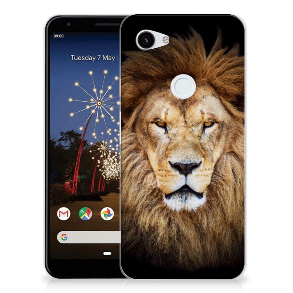 Google Pixel 3A XL TPU Hoesje Leeuw