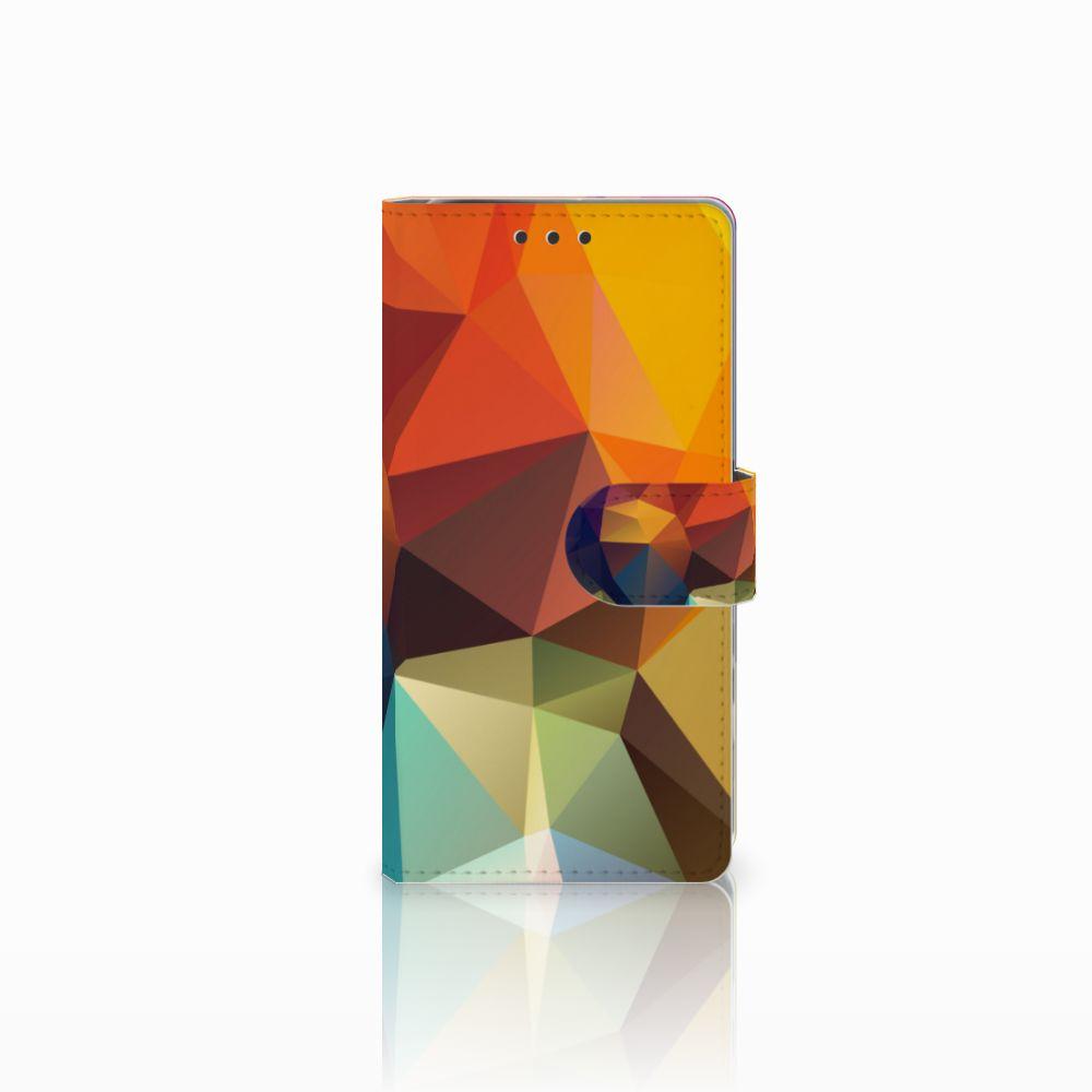 Sony Xperia X Performance Bookcase Polygon Color