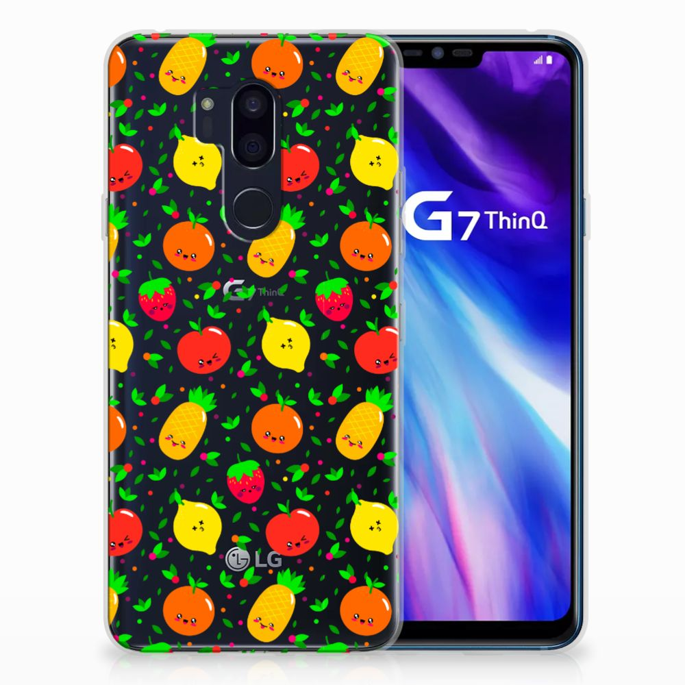 LG G7 Thinq Siliconen Case Fruits
