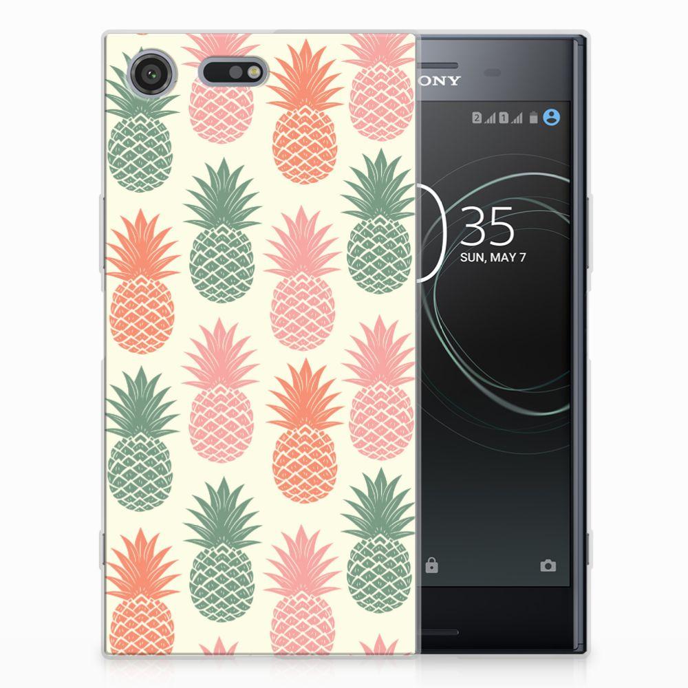Sony Xperia XZ Premium TPU Hoesje Design Ananas
