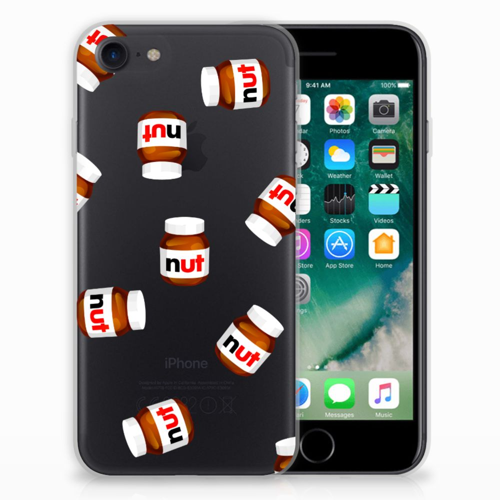 Apple iPhone 7 | 8 Siliconen Case Nut Jar