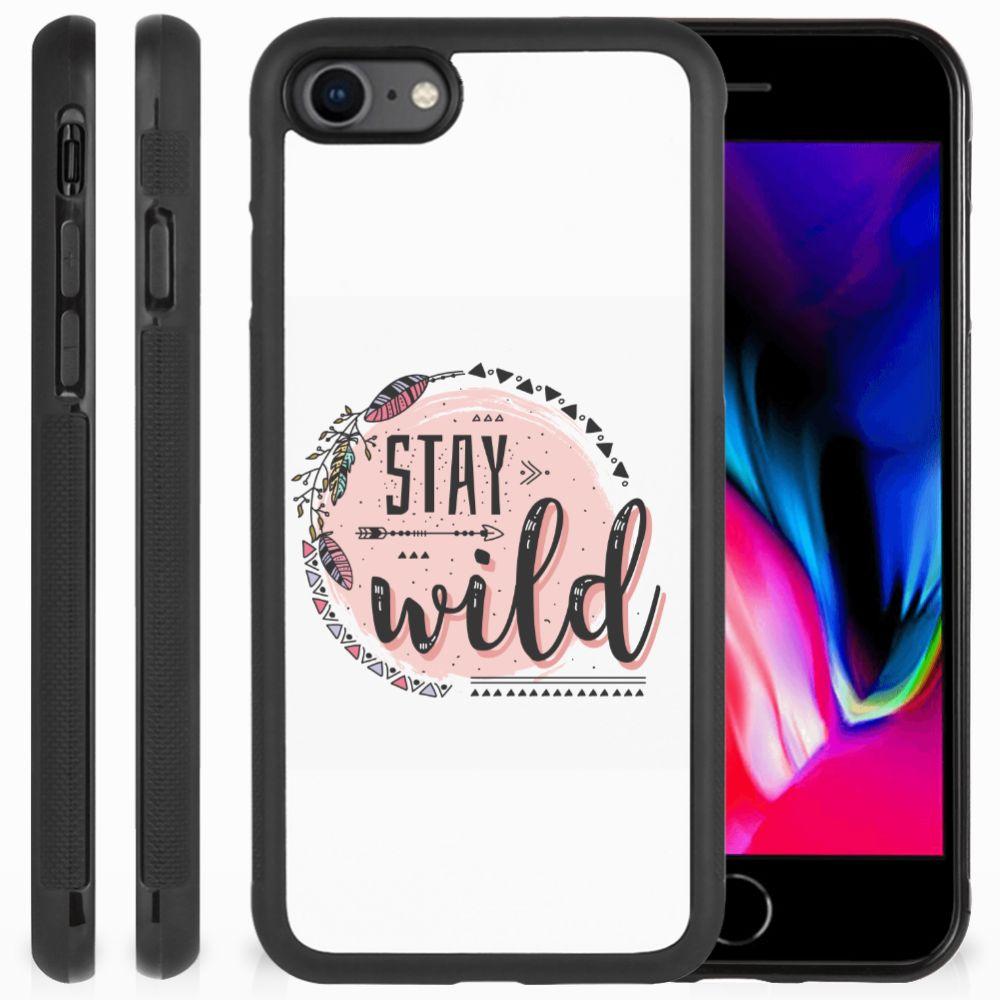 Apple iPhone 7 | 8 Bumper Hoesje Boho Stay Wild