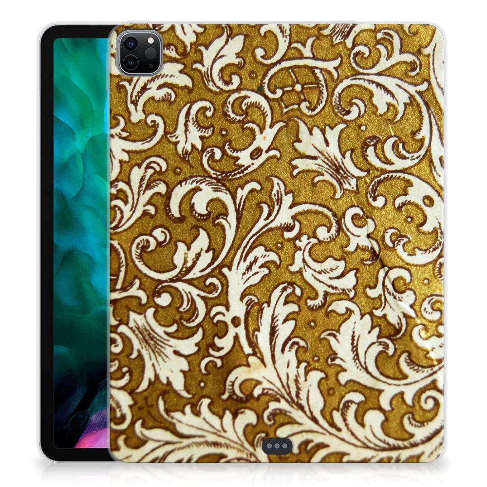 TPU Case iPad Pro 12.9 (2020) Barok Goud