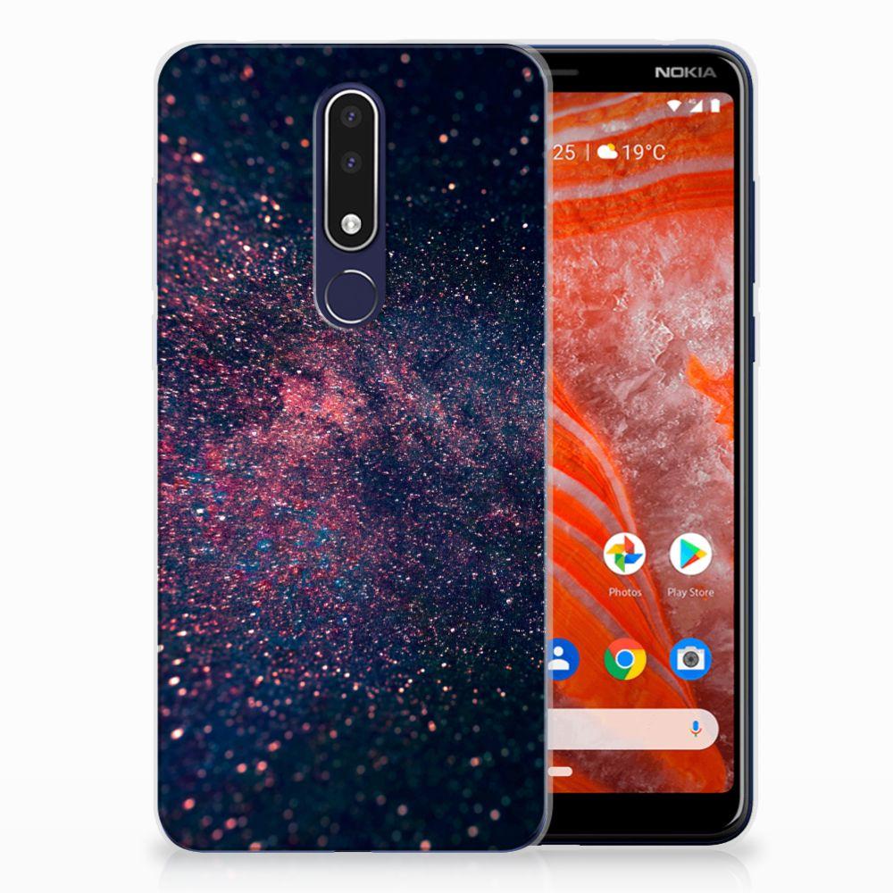 Nokia 3.1 Plus TPU Hoesje Stars