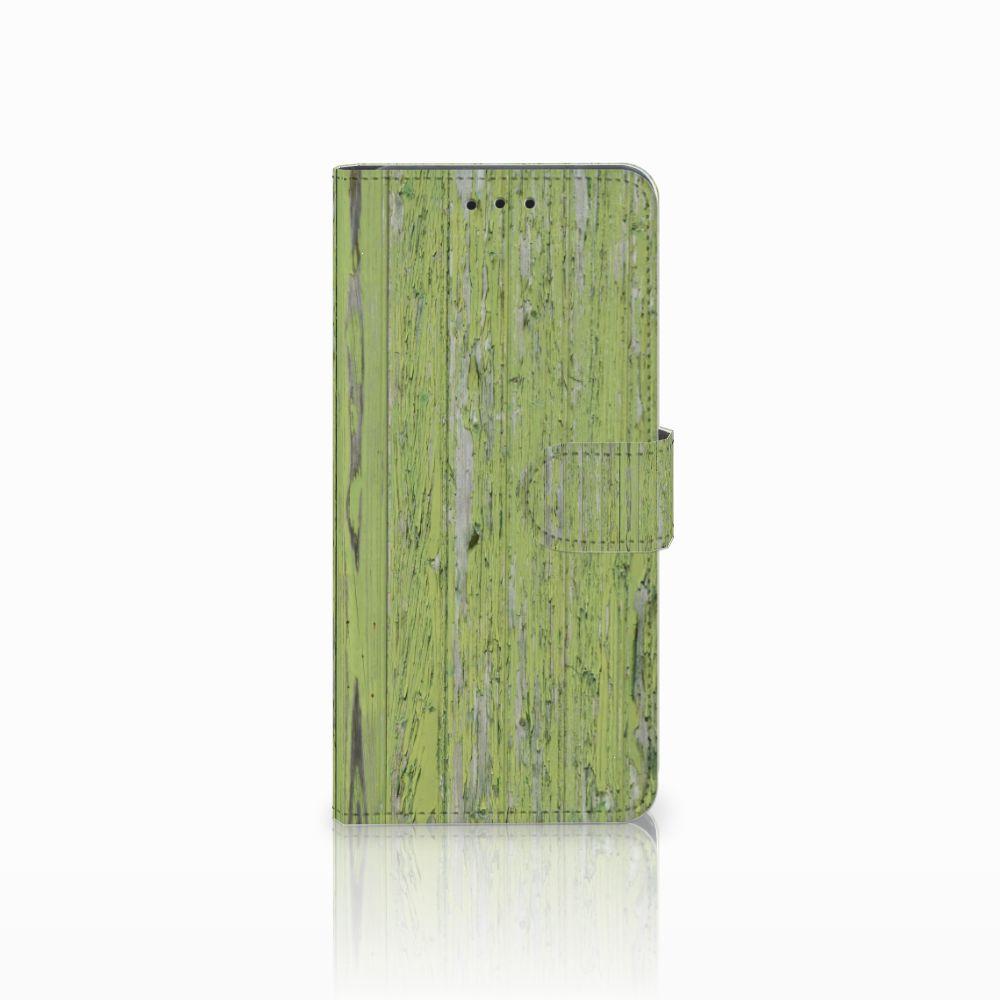 Huawei Mate 20 Pro Boekhoesje Design Green Wood