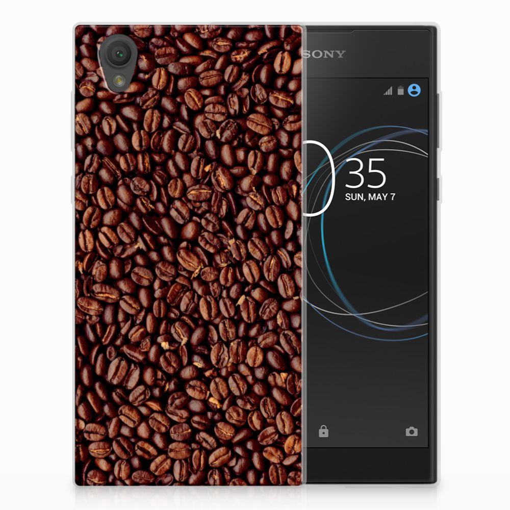 Sony Xperia L1 Siliconen Case Koffiebonen