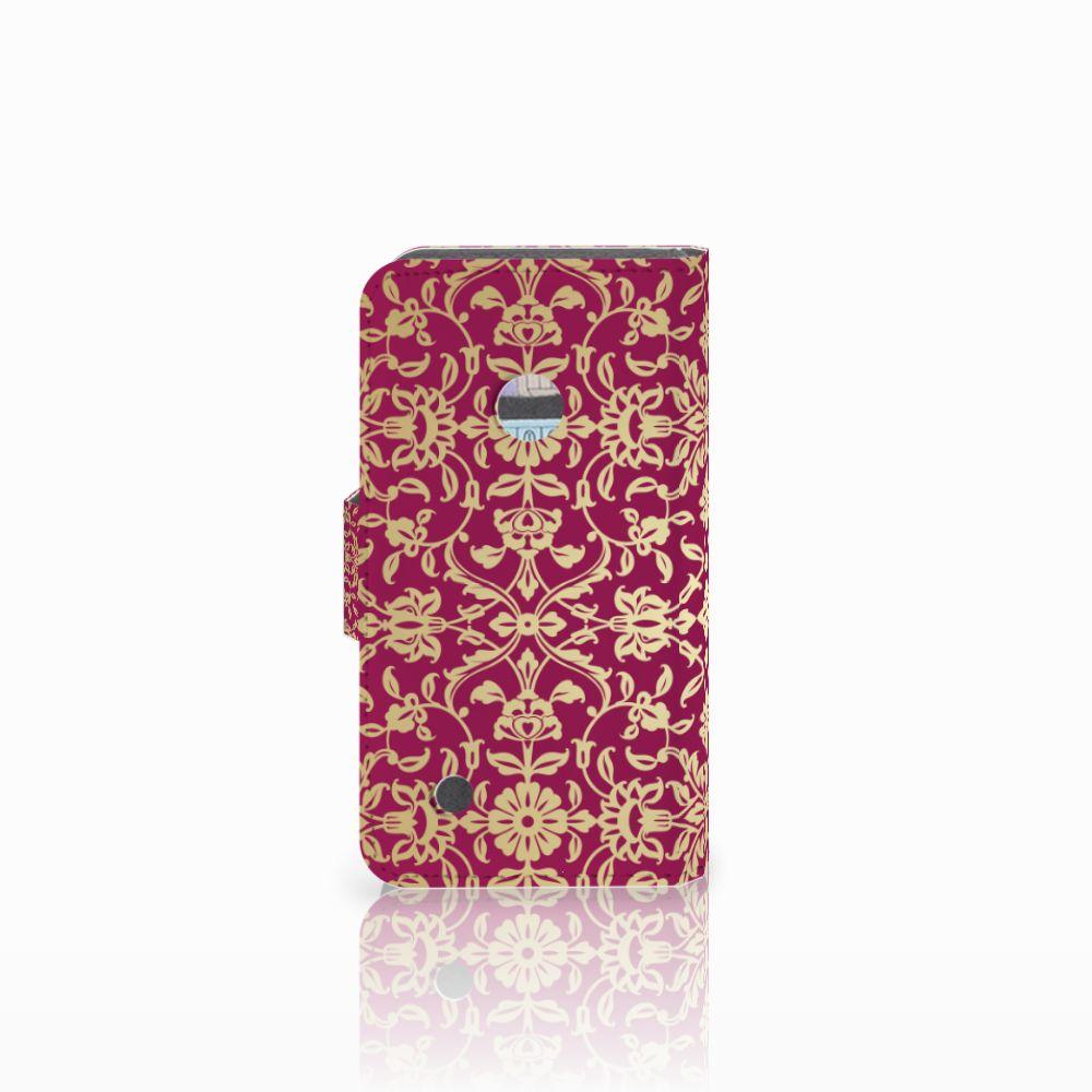 Wallet Case Nokia Lumia 530 Barok Pink