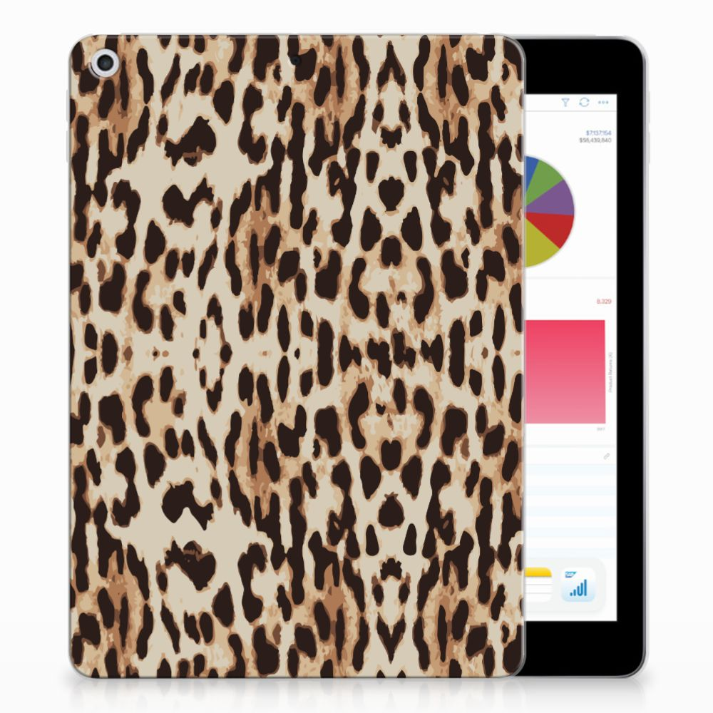 Apple iPad 9.7 2018 | 2017 Uniek Tablethoesje Leopard