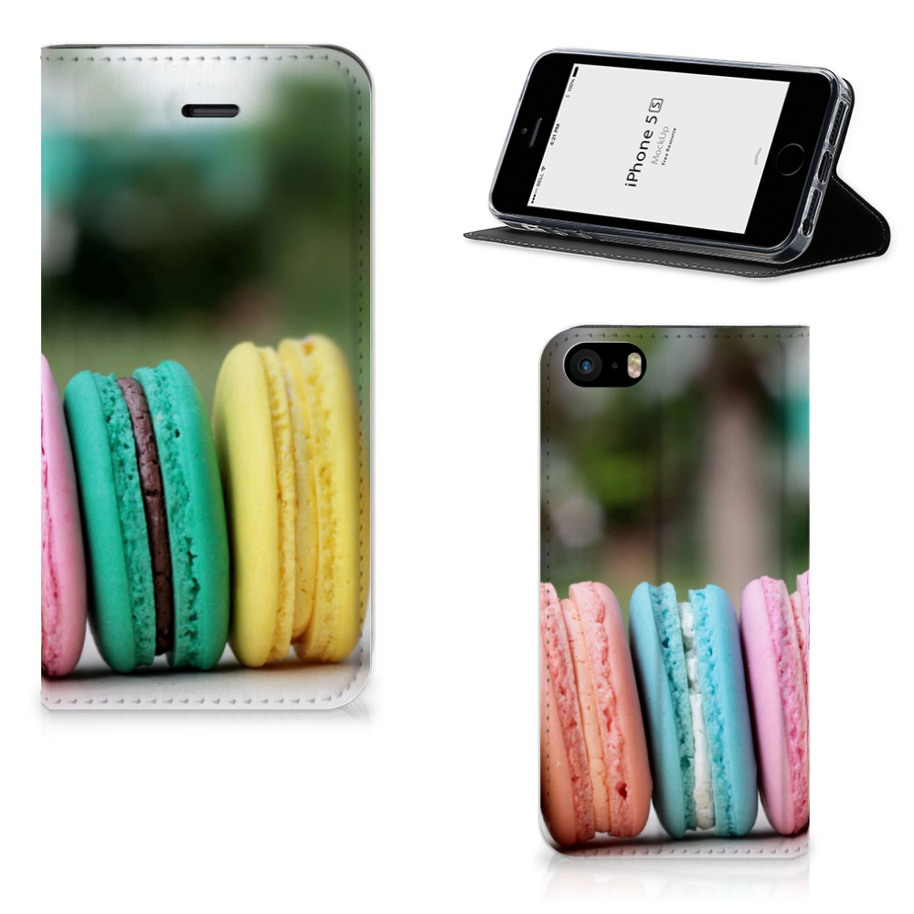 iPhone SE|5S|5 Flip Style Cover Macarons