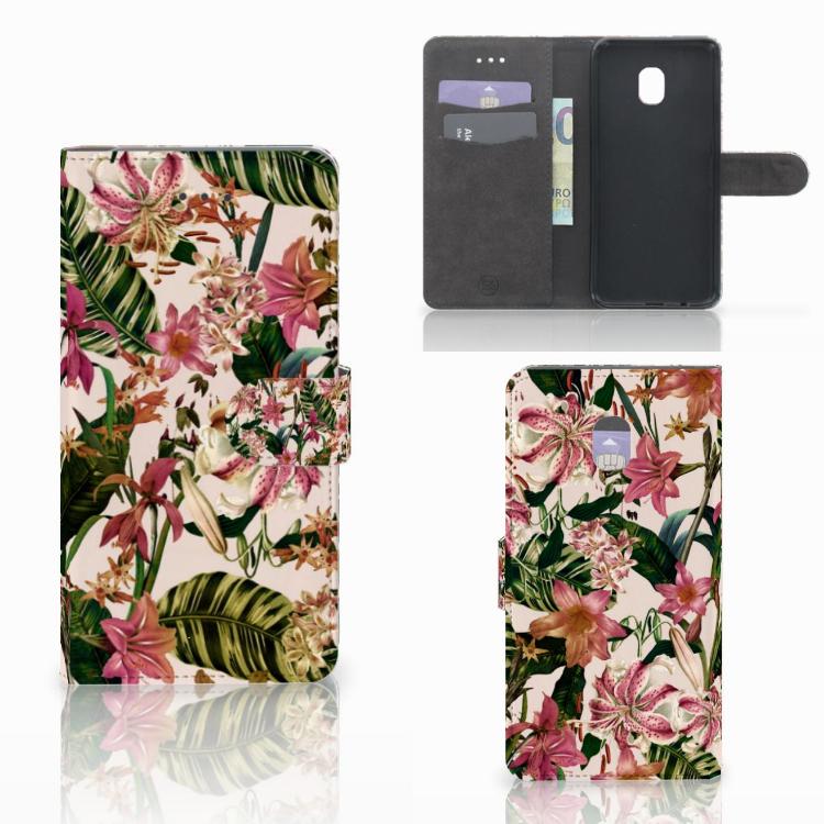 Samsung Galaxy J7 (2018) Hoesje Flowers