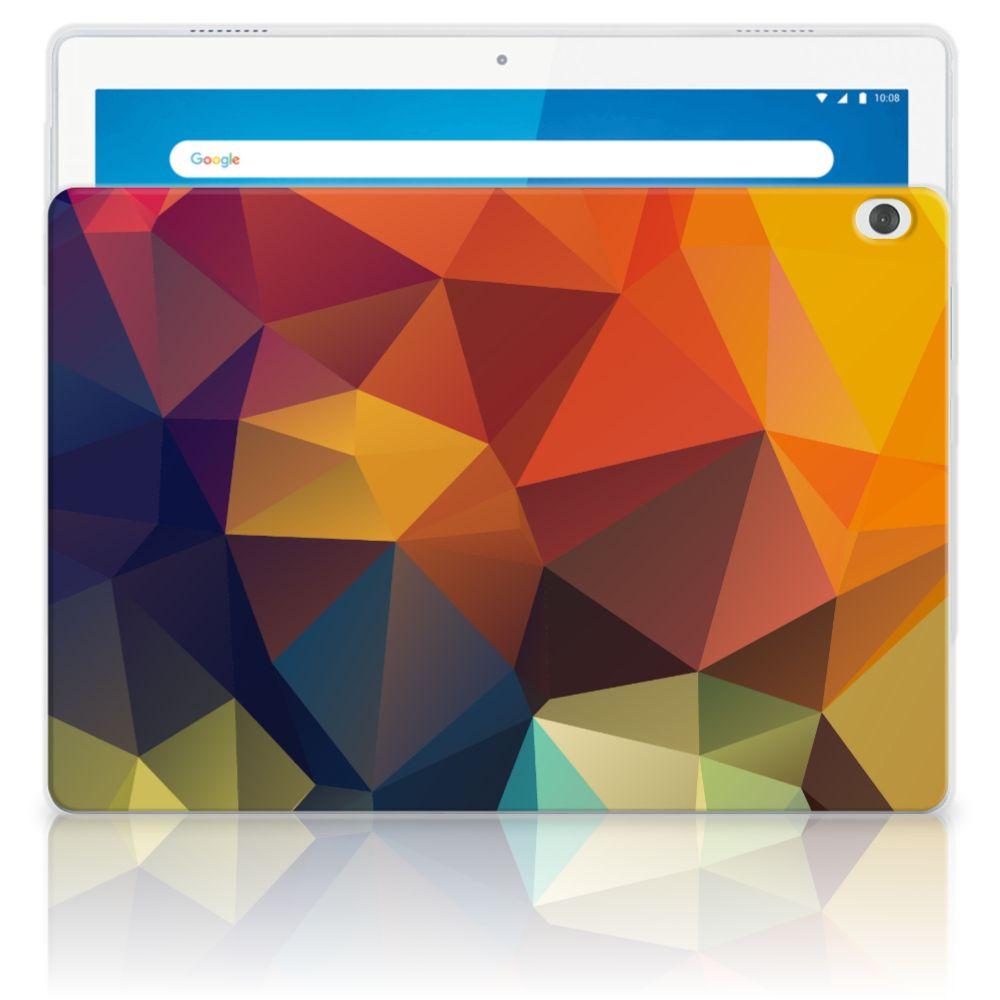 Lenovo Tab M10 Back Cover Polygon Color