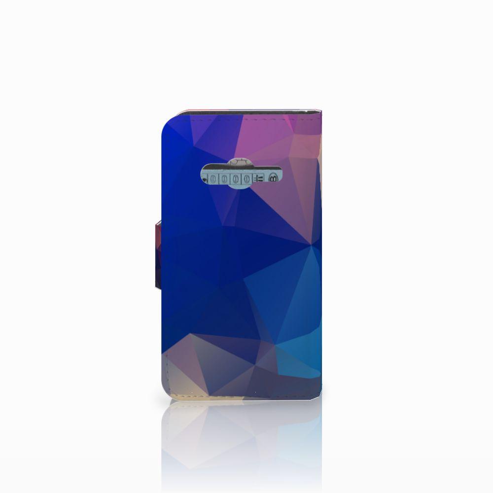 Samsung Galaxy Trend 2 Bookcase Polygon Dark