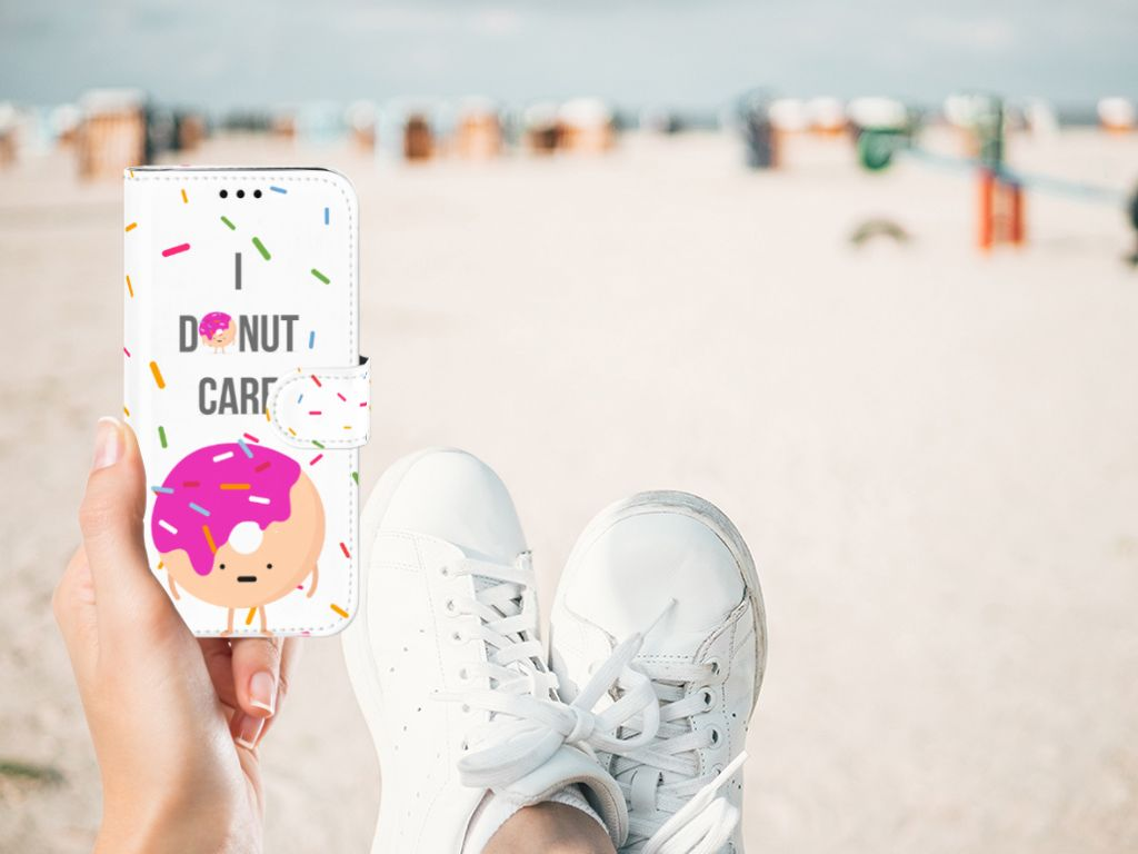 Samsung Galaxy J5 2017 Book Cover Donut Roze