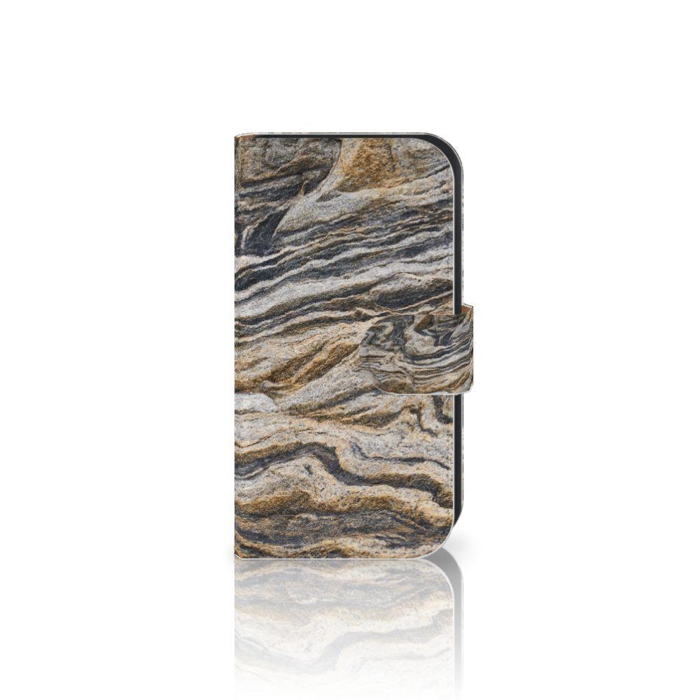 Samsung Galaxy Ace 4 4G (G357-FZ) Boekhoesje Design Steen