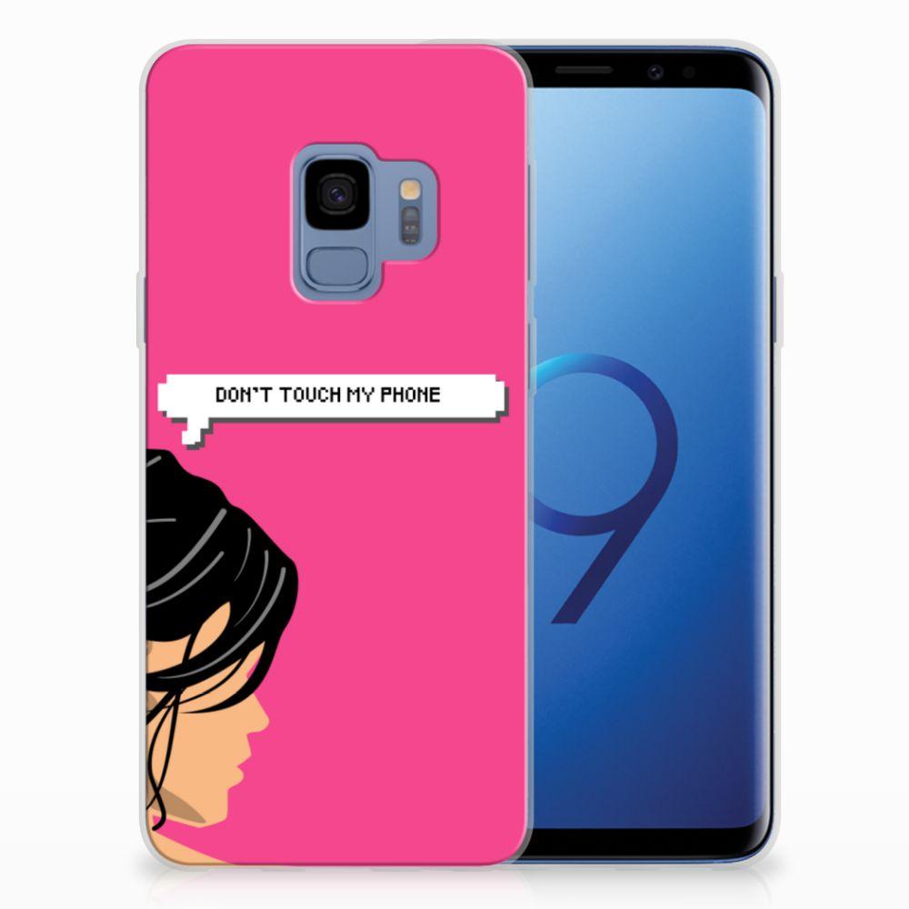 Samsung Galaxy S9 Uniek TPU Hoesje Woman DTMP