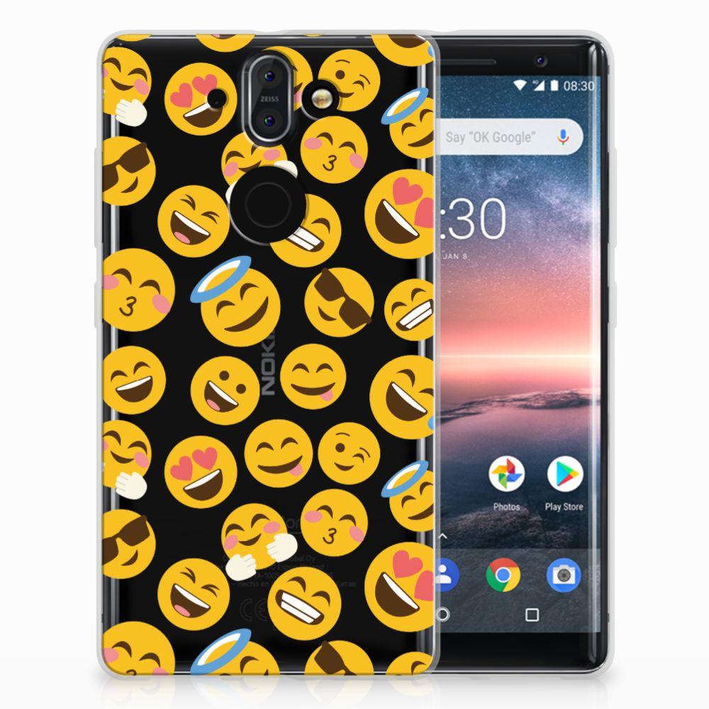 Nokia 9 | 8 Sirocco TPU bumper Emoji