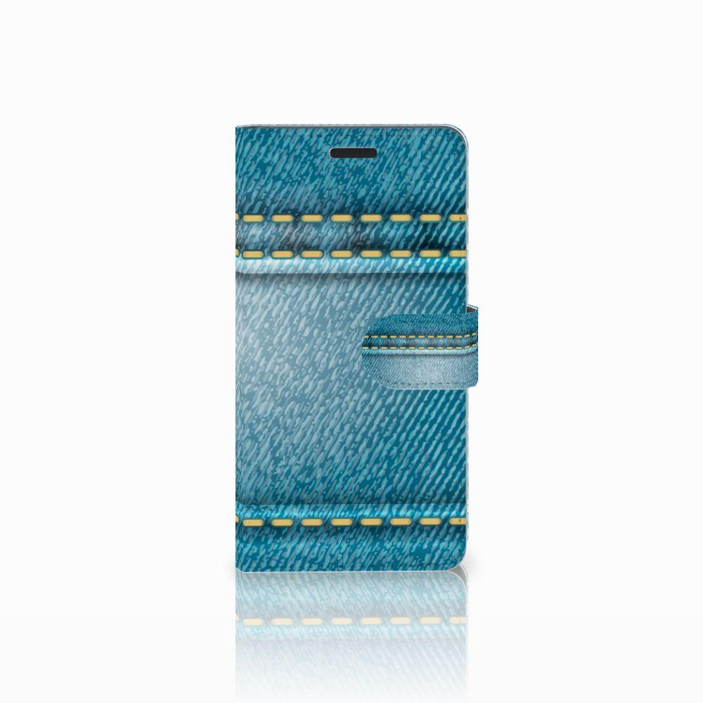 Samsung Galaxy A7 2015 Boekhoesje Design Jeans
