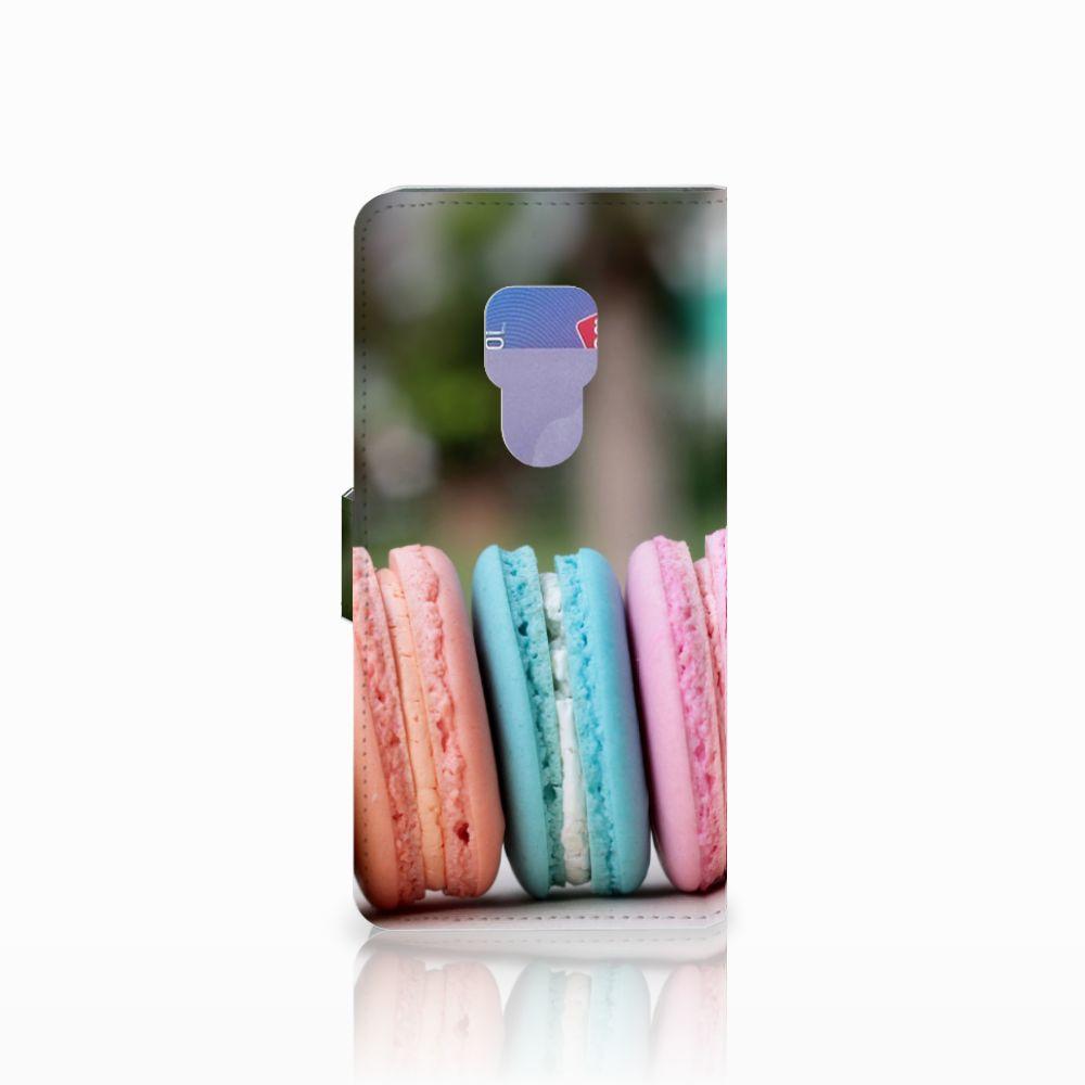 Huawei Mate 20 Book Cover Macarons