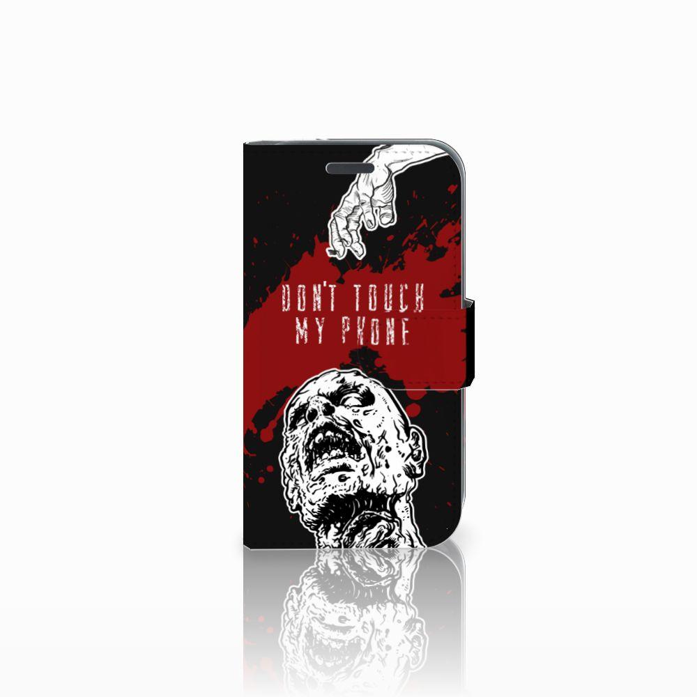 Samsung Galaxy J1 2016 Boekhoesje Design Zombie Blood