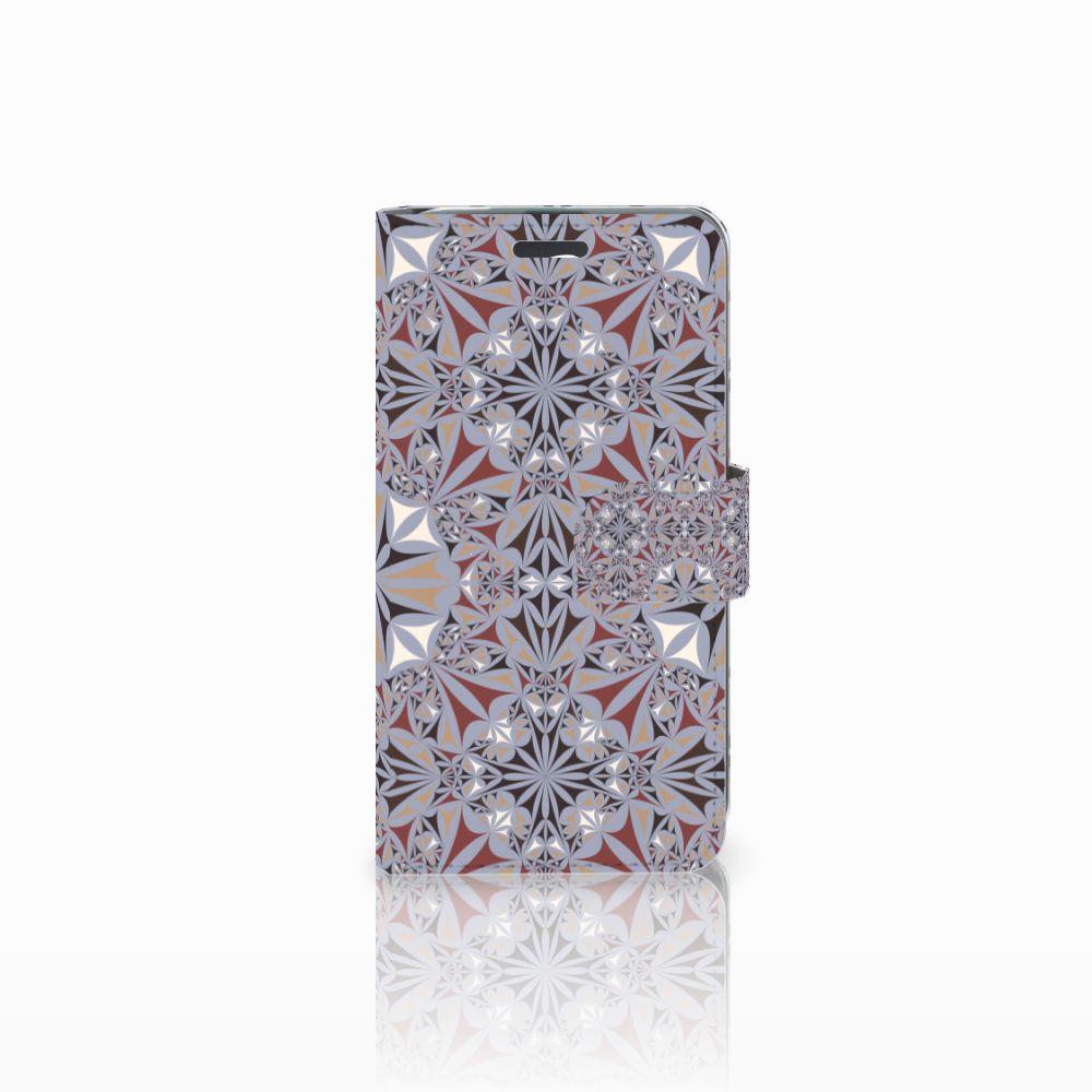 Acer Liquid Z520 Boekhoesje Design Flower Tiles