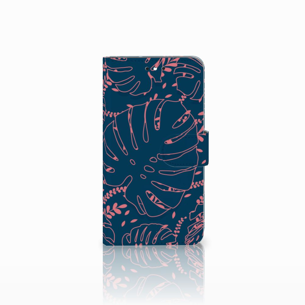 Motorola Moto G4 | G4 Plus Boekhoesje Design Palm Leaves