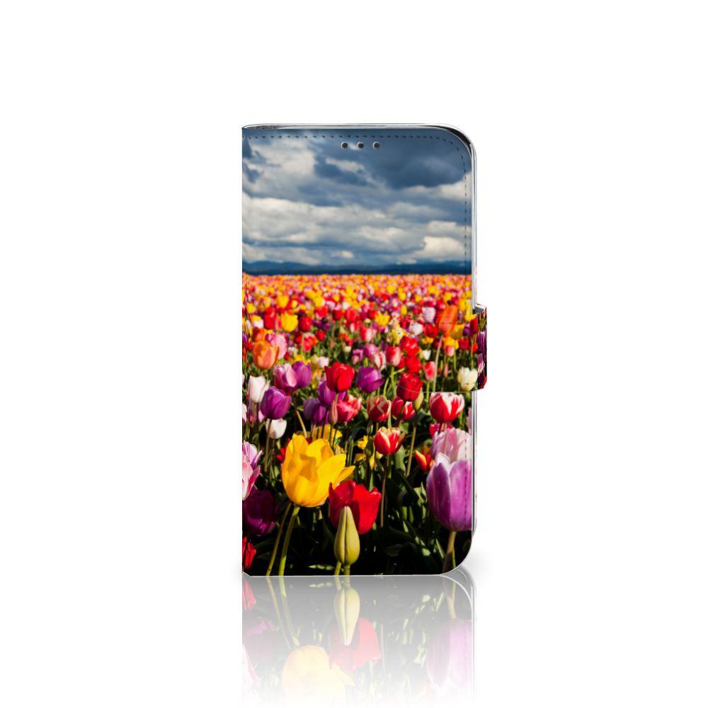 Xiaomi Mi A2 Lite Uniek Boekhoesje Tulpen