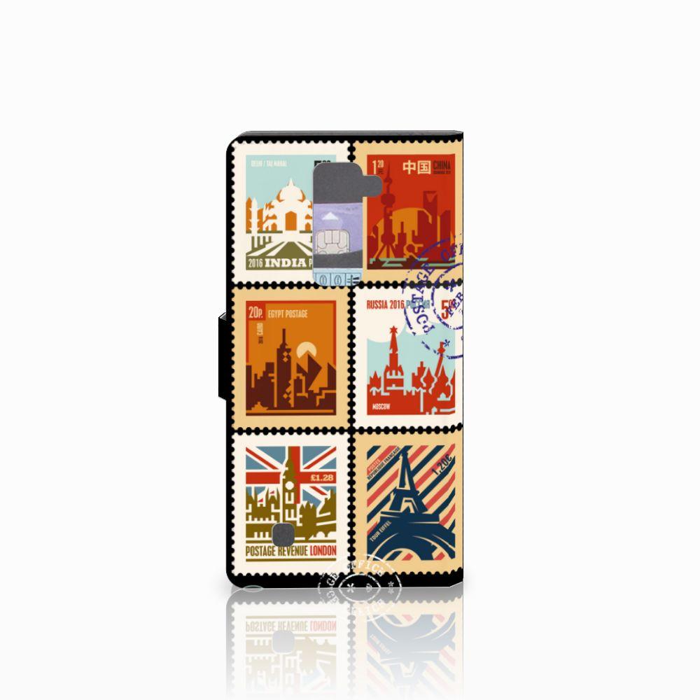 LG K10 2015 Flip Cover Postzegels