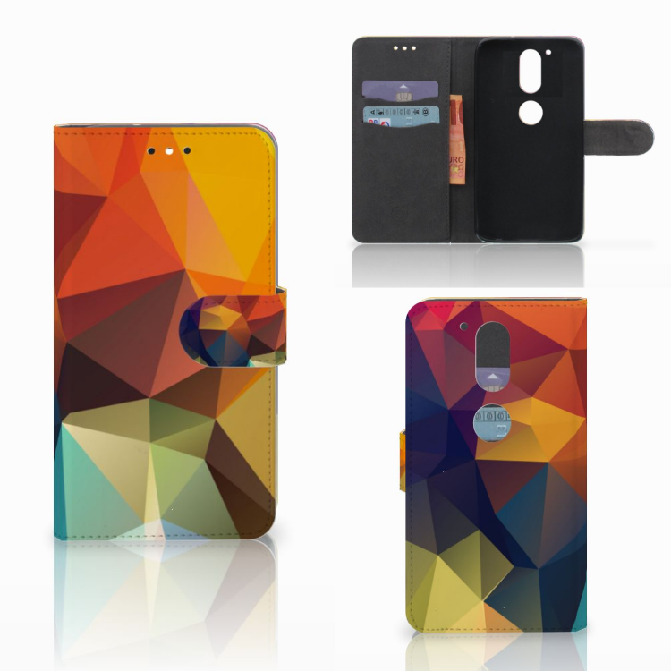 Motorola Moto G4 | G4 Plus Bookcase Polygon Color