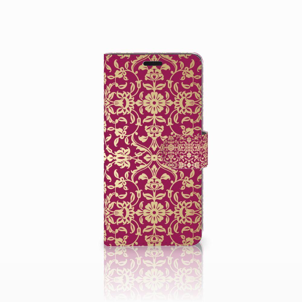HTC Desire 530 Boekhoesje Design Barok Pink