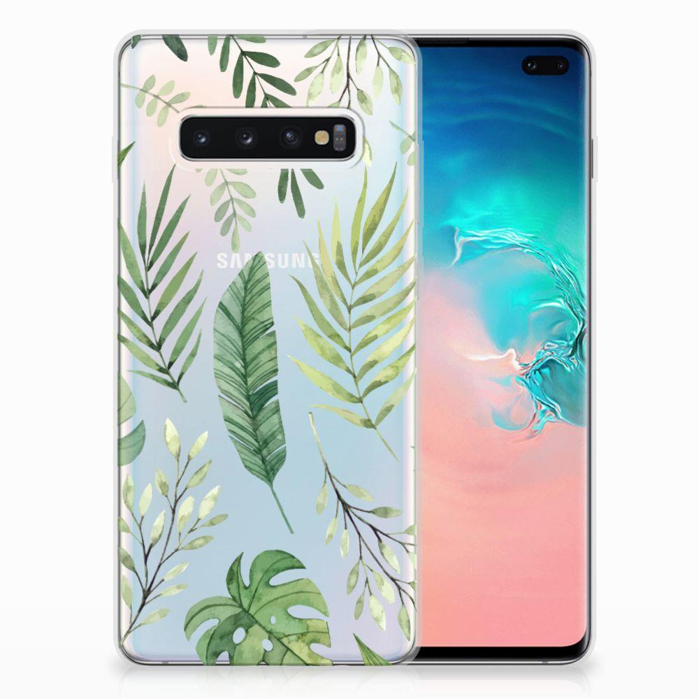 Samsung Galaxy S10 Plus TPU Case Leaves