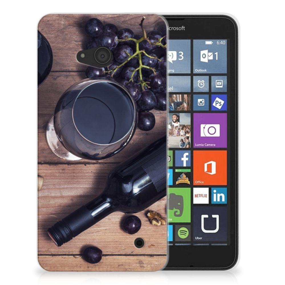 Microsoft Lumia 640 Siliconen Case Wijn