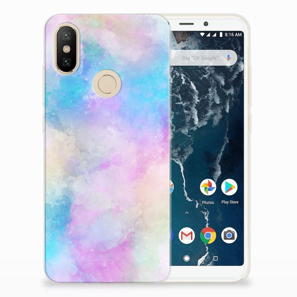 Hoesje maken Xiaomi Mi A2 Watercolor Light